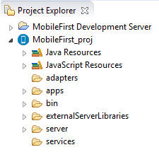 Setting up a new MobileFirst environment for your application