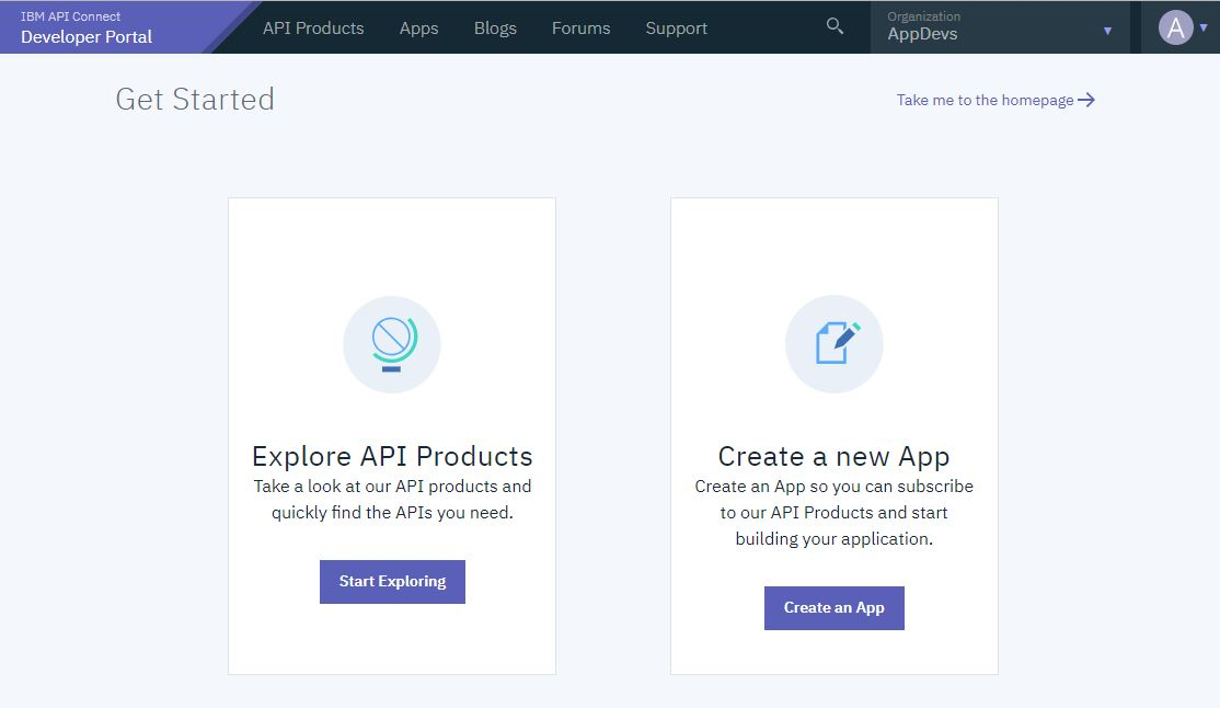 Using the Developer Portal with IBM API Connect