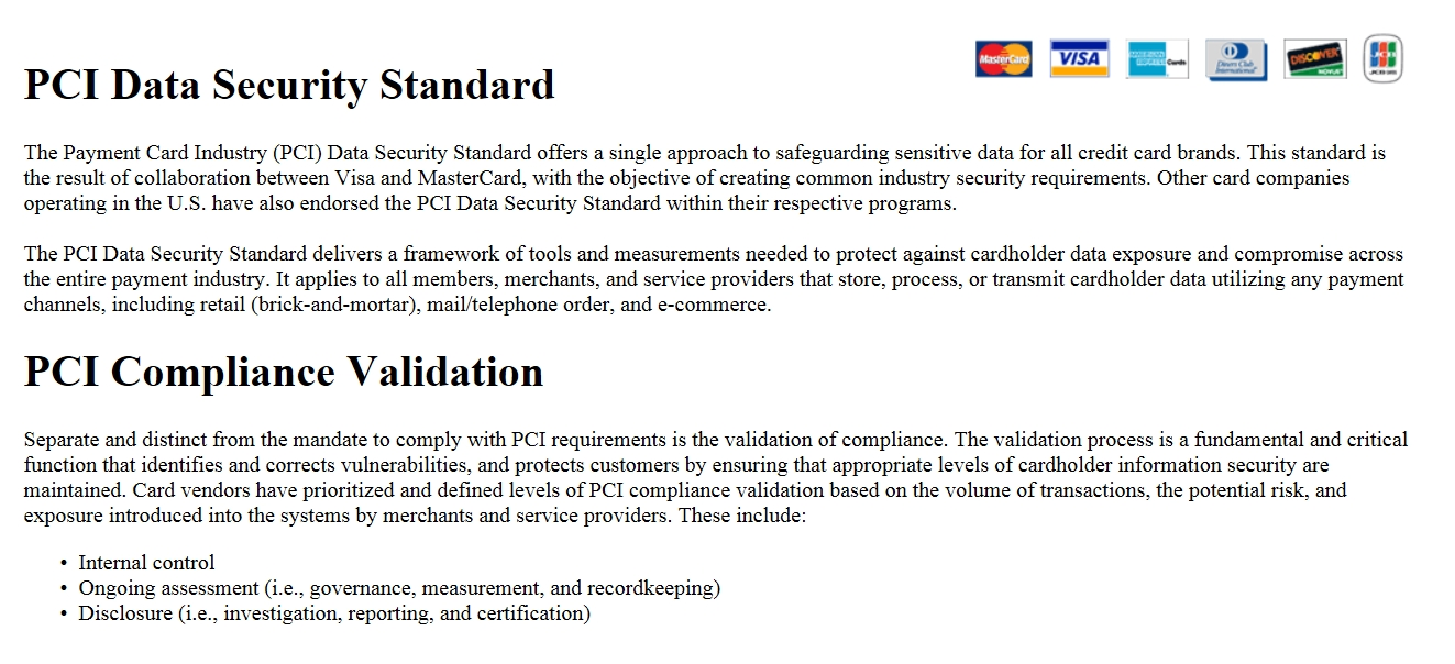 How to use pcidss accelerator to implement pci compliance implement pci accelerator 1betcityfo Gallery