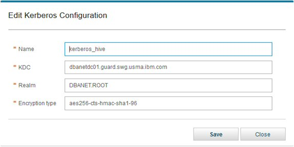 Using VA with Cloudera