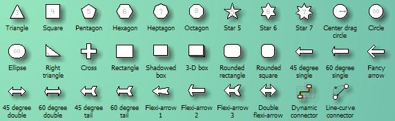 basic shapes stencil - Microsoft Visio Manual