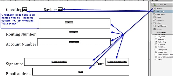 Configuring Form Markup and Mapping