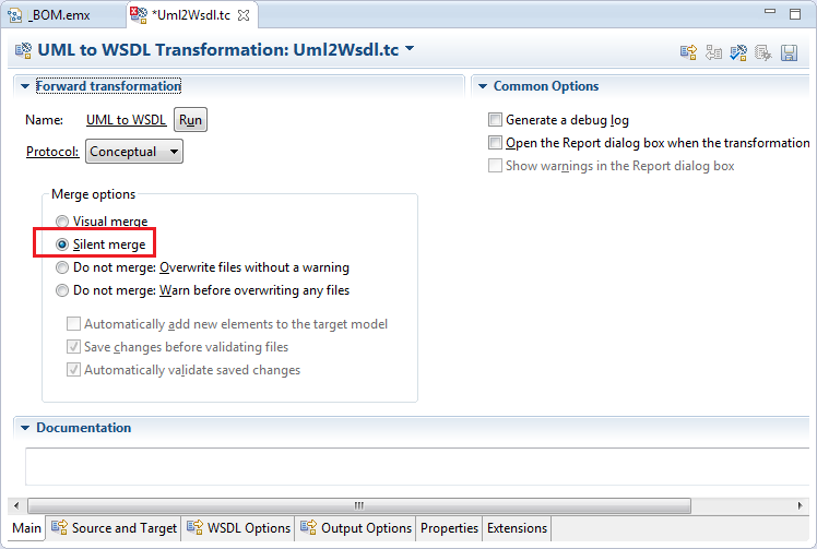 Generating WSDL/XSD artifacts