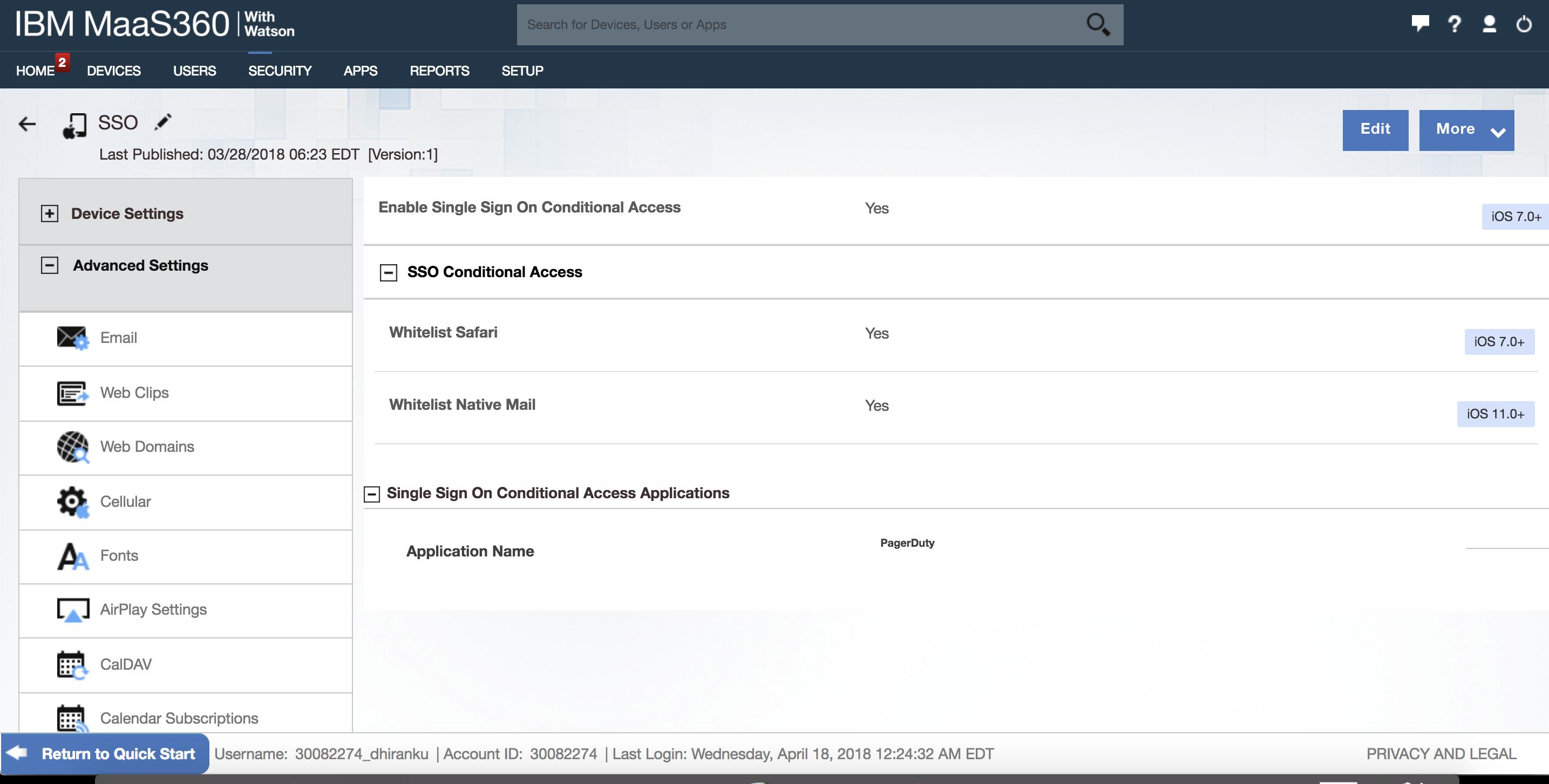 Applications de rencontres IBM