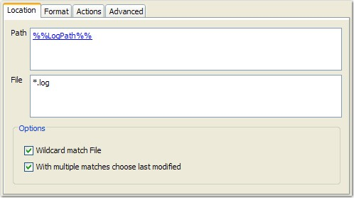 how to add file path in pages
