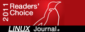 2011 Readers' Choice. Linux Journal