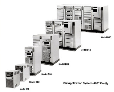 IBM Application System 400 Family