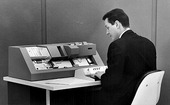 Punch Card Machine, circa 1960's, courtesy of www.ibm.com