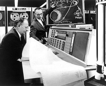 IBM Archives: IBM 7090 and the moon
