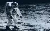 IBM computers and personnel help NASA put the first men on the Moon