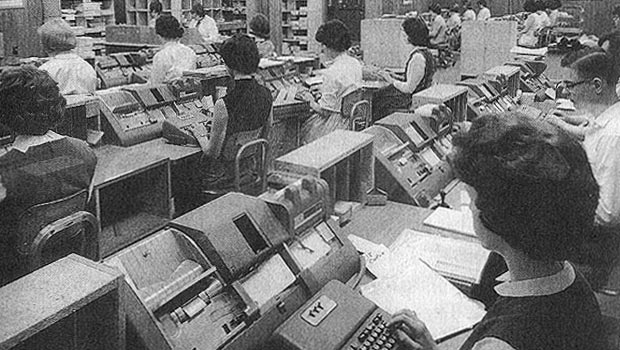 Punched card operators