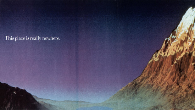 IBM landscape ad: This place is really nowhere.