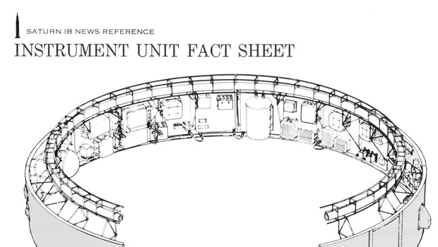 PDF Cover page: Saturn IB News Reference Instrument Unit Fact Sheet