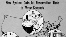 New System Cuts Jet Reservation Time to Three Seconds - diagram