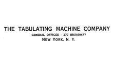 The Tabulating Machine Company letterhead