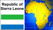Sierra Leone, on the west coast of Africa is one of the poorest countries in the world and has very limited healthcare and education.