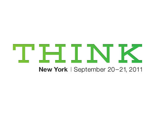 THINK - New York | September 20-21, 2011