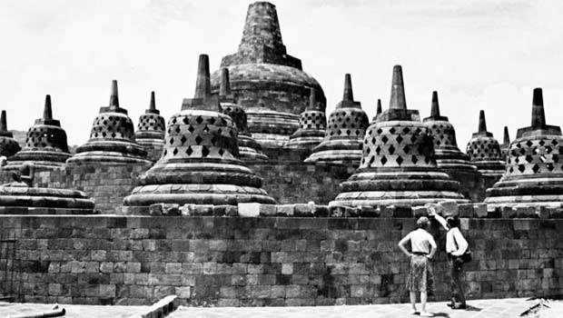 The Borobudur monument