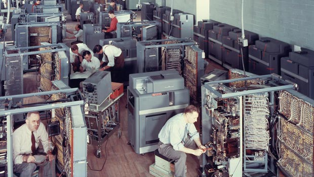 Assembly of the IBM 604
