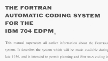 Autographed copy of the Fortran Automatic Coding System for the IBM 704EDPM