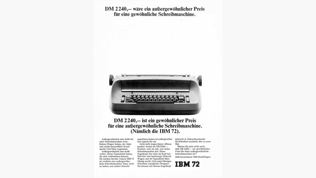 German Selectric ad