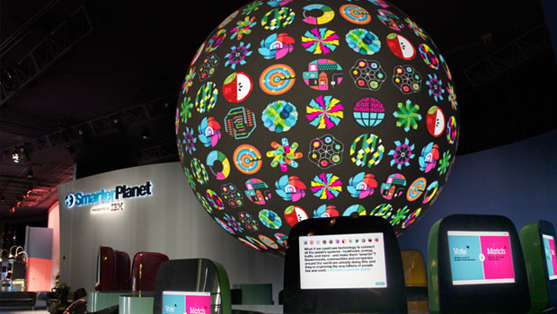 Epcot's IBM Smarter Planet exhibit