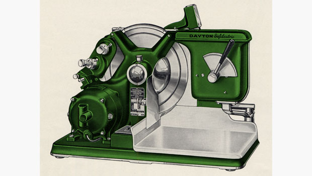 Dayton Safelectric meat slicer