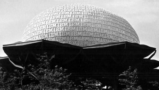 The IBM Pavillion at the 1964 - 1965 World's Fair