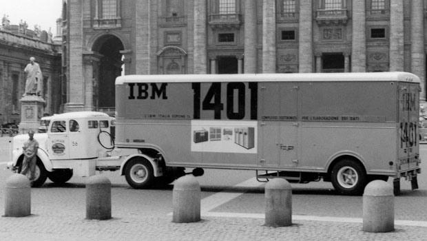 1401 Datamobile at the Vatican