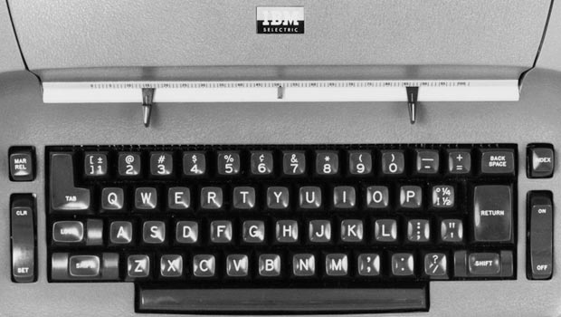 how did the typewriter affect america