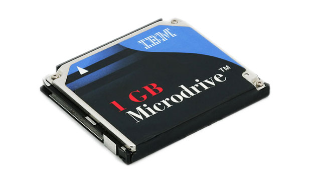 The IBM 1 GB Microdrive