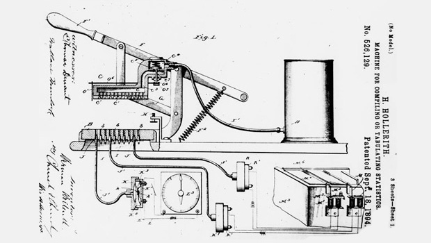 Hollerith patent diagram