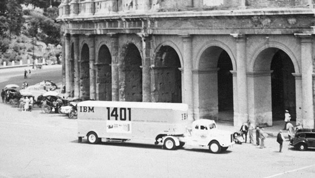 1401 Datamobile at the Coloseum