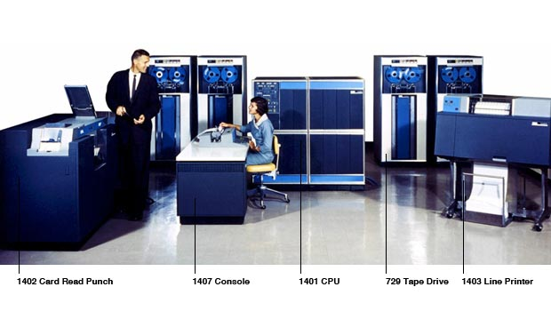 The components of the IBM 1400 Series