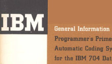 Portion of the cover of the Programmers Primer