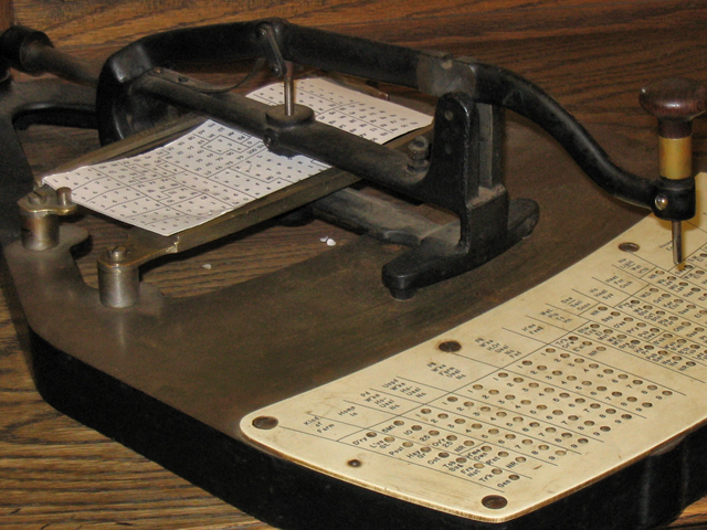 Ibm100 The Punched Card Tabulator