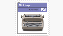 Selectric Typewriter US postage stamp