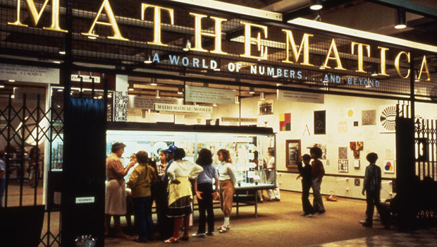 The Mathmatica exhibit