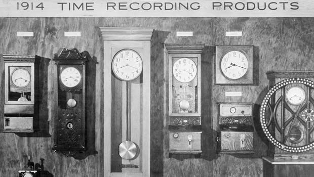 1914 Time Recording Products