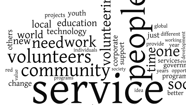 Service Jam word cloud