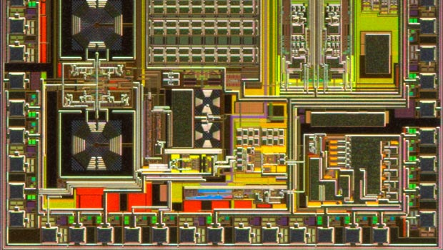 Silicon germanium chip