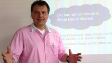 Harry Baur is just one of hundreds of IBM volunteers who are teaching German kids how to manage their online identities.