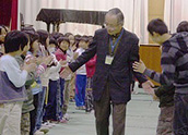 IBM retiree Koichi Morinaga takes his professional skills into the classroom.