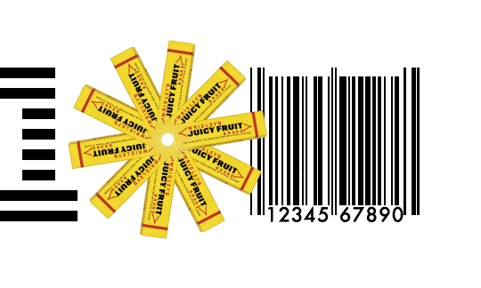 Bar Code from IBM 100 Icons of Progress
