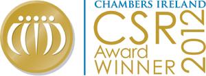 CHAMBERS IRELAND. CSR Award WINNER 2012