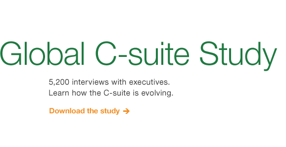 The Global C-suite Study
