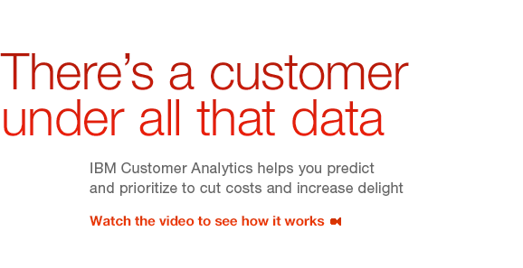 There is customer all that data