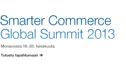 Smarter Commerce Global Summit 2013