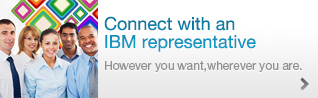 Connect with an IBM representative