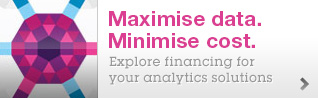 Maximise data. Minimise cost. Explore financing for your analytics solutions